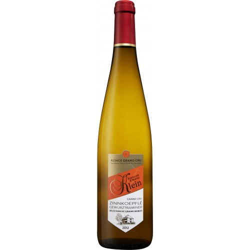 GEWURZTRAMINER GRAND CRU ZINNKOEPFLÉ SÉLECTION DE GRAINS NOBLES 2012