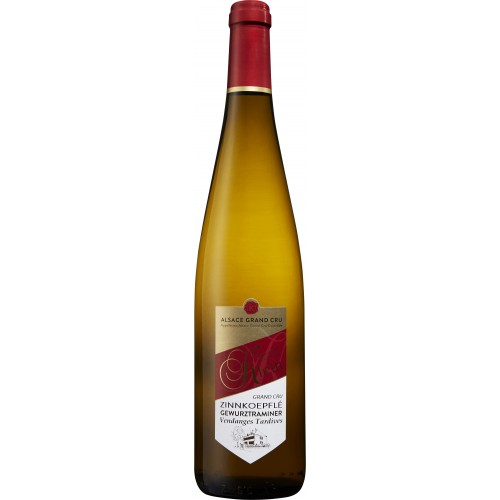 GEWURZTRAMINER GRAND CRU ZINNKOEPFLÉ VENDANGES TARDIVES 2016